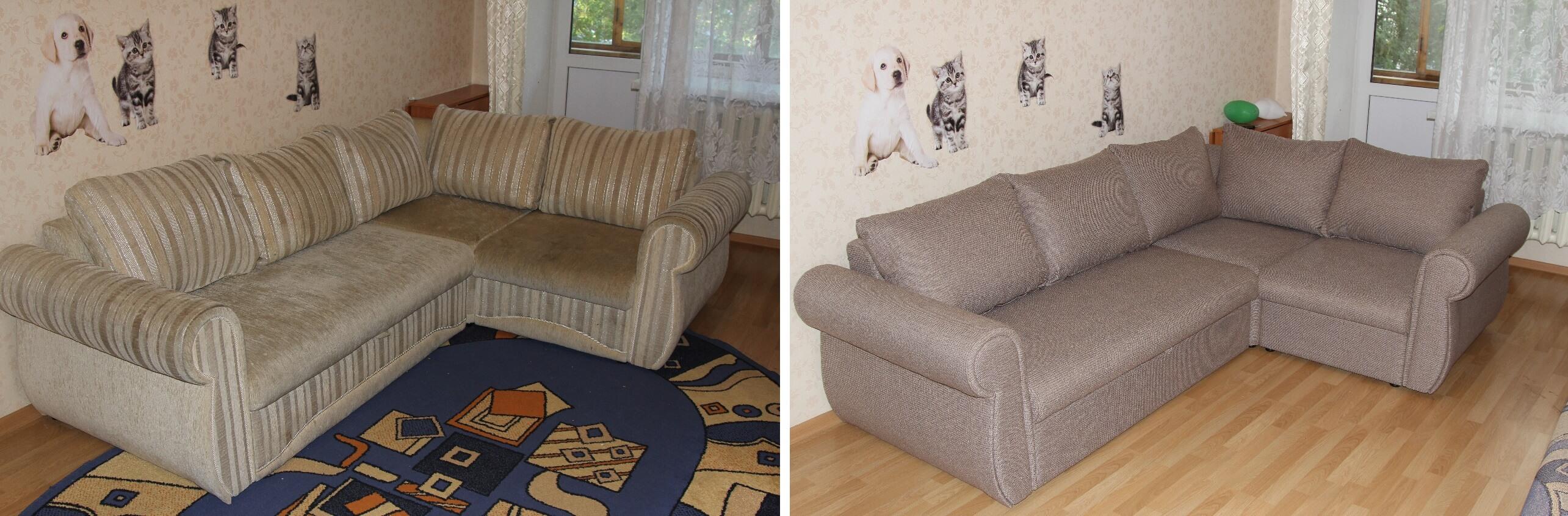 Мебель до и после ремонта  - фото 23