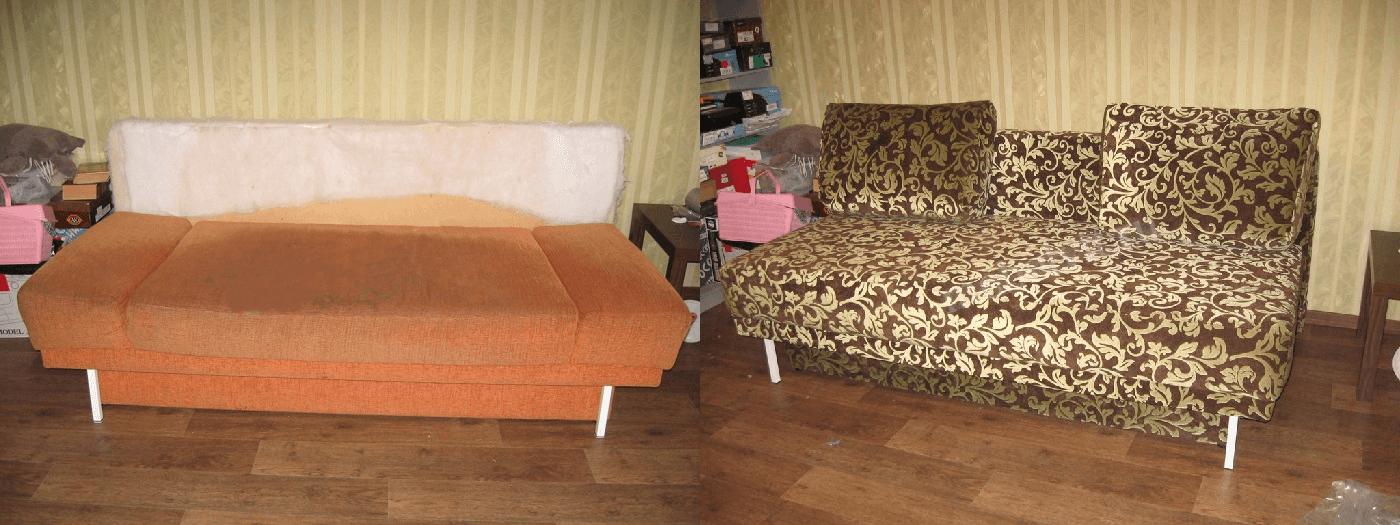 Мебель до и после ремонта  - фото 3